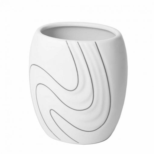 Bisk Nicesea 05976 Wave pohár fehér