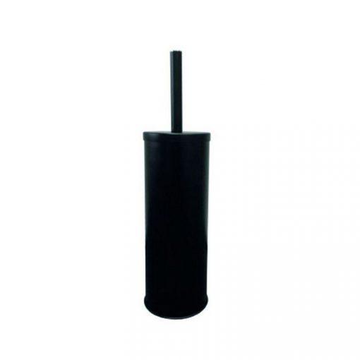 Bisk 06068 fekete henger alakú álló wc kefe tartó