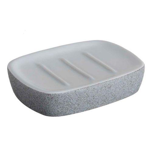 Bisk Nicesea 06312 Stone szappantál szürke