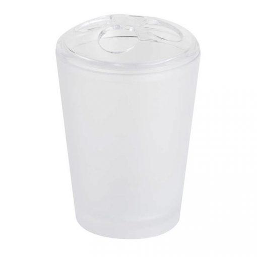 Bisk Nicesea 06340 Frost fogkefetartó pohár fehér