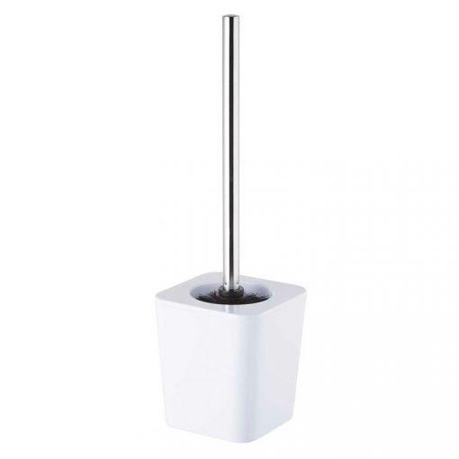 Bisk Nicesea 06350 Simple wc kefe tartóval fehér