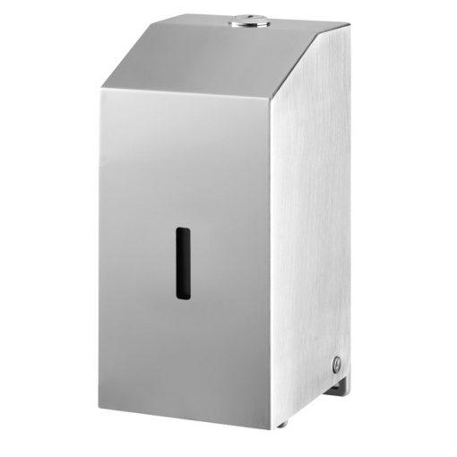 Bisk Masterline 06391 500 ml-es DP-M1 folyékonyszappan adagoló króm rozsdamentes acélból