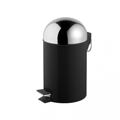 Bisk GRENADA 06626 fekete 3 literes pedálos szemetes