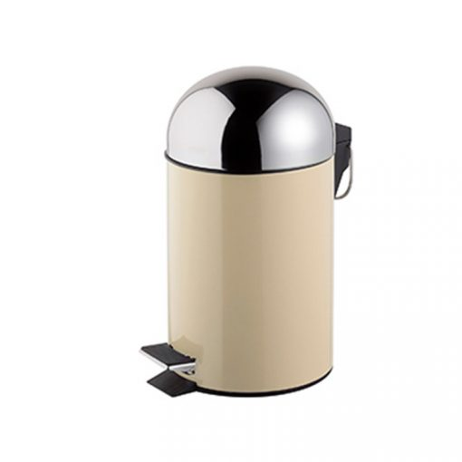 Bisk GRENADA 06628 bézs 3 literes pedálos szemetes