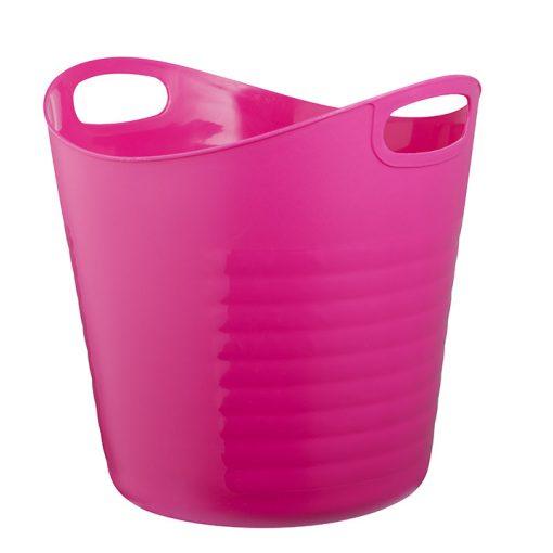 Bisk CITY 06670 rózsaszín nagy kosár pe