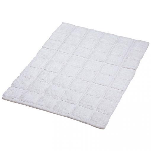 Bisk Nicesea 06705 Net White 50x70 pamut fürdőszobaszőnyeg
