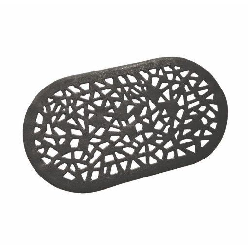 Bisk Nicesea 06760 Grendada fekete 68x39 csúszásmentes szőnyeg