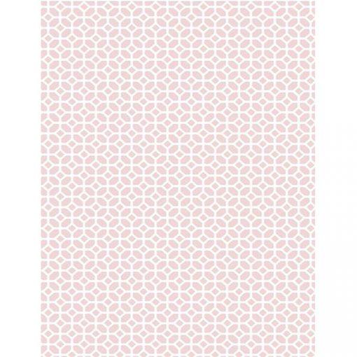 Bisk Nicesea 06890 Nicea Rose Quartz 180x200 Peva zuhanyfüggöny karikával