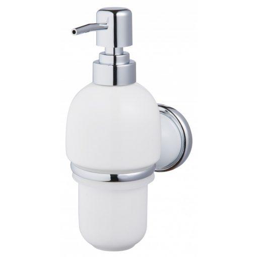 Bisk GRENADA 06898 króm tartós üveg folyékony szappanadagoló