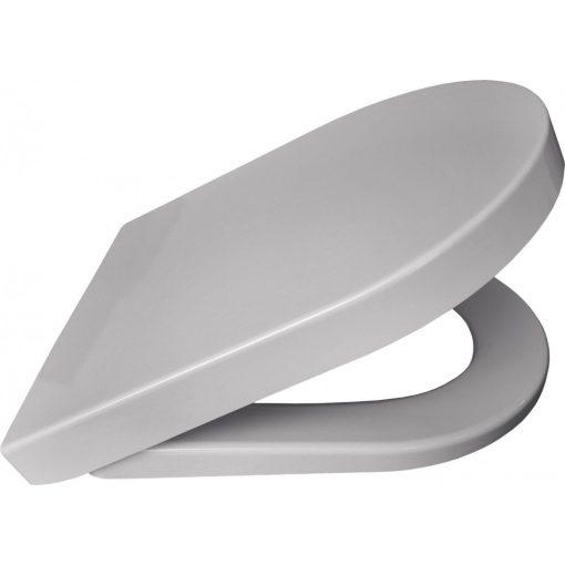 Bisk Veno 06915 D-alakú lecsapódásgátlós duroplast wc ülőke fehér