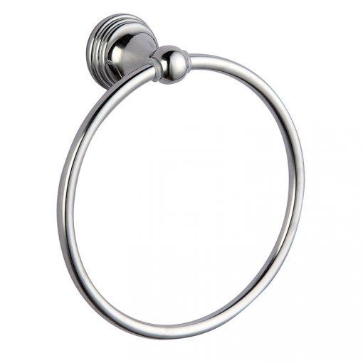 Bisk ONE 07040 króm törölköző tartó gyűrű