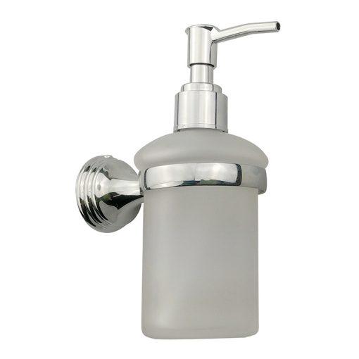 Bisk ONE 07043 króm tartós üveg folyékonyszappan adagoló