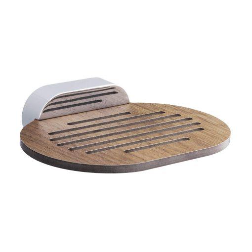 Bisk BERGEN 07053 HPL fa szappantartó tál