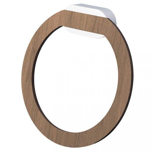 Bisk BERGEN 07103 HPL fa törölköző tartó gyűrű