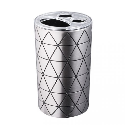 Bisk Nicesea 07126 Star fogkefetartó pohár ezüst színű