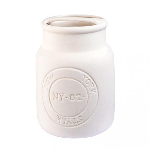 Bisk Nicesea 07168 New York fogkefetartó pohár fehér