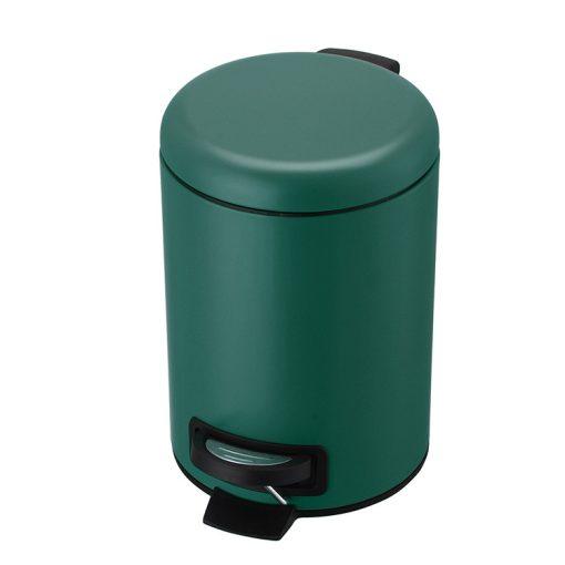 Bisk 07512 pasztel zöld színű 3 literes pedálos szemetes