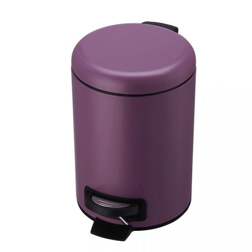 Bisk 07513 pasztel viola színű 3 literes pedálos szemetes