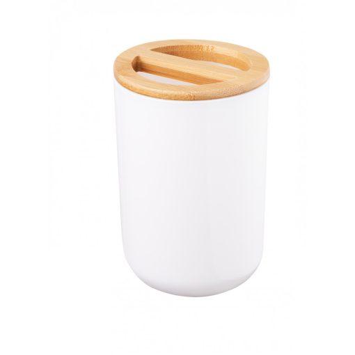 Bisk Nicesea 07580 Snow fogkefetartó pohár fehér