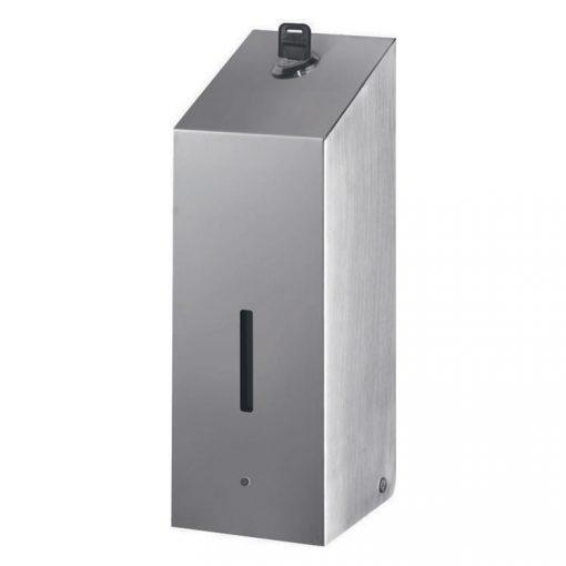 Bisk Masterline 07603 800 ml-es D1 automata fali folyékonyszappan adagoló rozsdamentes acélból