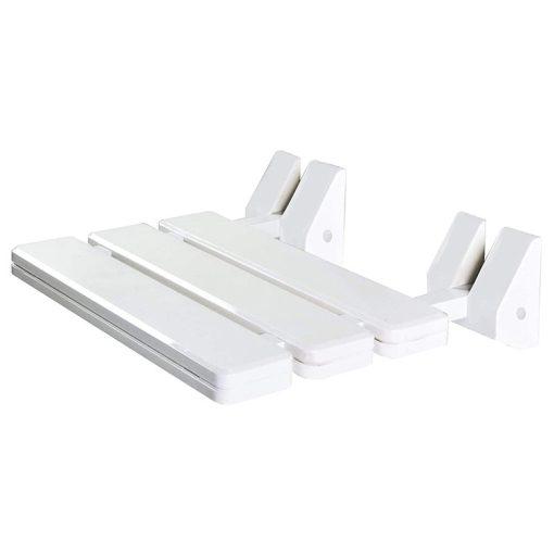 Bisk Masterline PRO 07623 felhajtható zuhanyülőke fehér