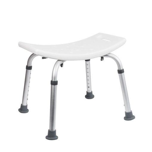 Bisk Masterline PRO 07639 Pro négyzet alakú fürdőszobai szék fehér