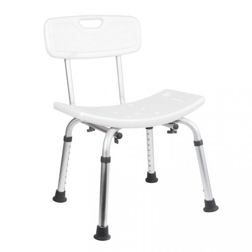 Bisk Masterline PRO 07657 háttámlás fürdőszobai szék fehér