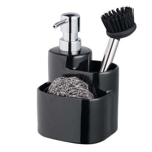 Bisk 4Kitchen 07674 konyhai 3 in 1 kiegészítő szett, fekete
