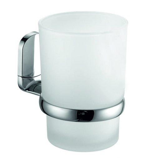 Bisk VIGO 07681 króm tartós üveg pohár
