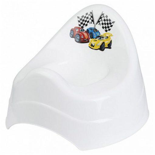 Bisk 4KIDS 07770 műanyag fehér autós bili