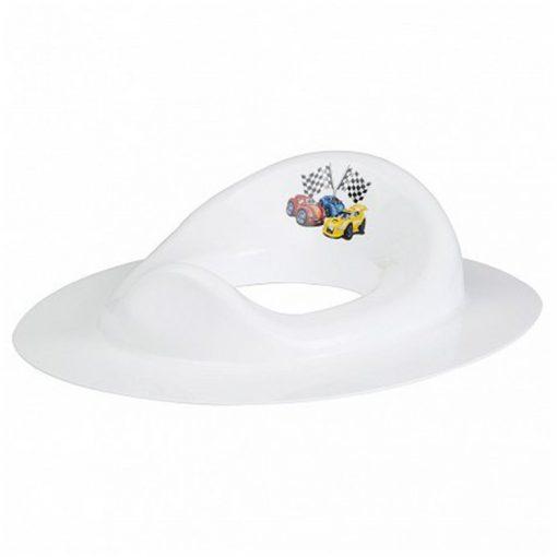 Bisk 4KIDS 07772 műanyag fehér autós wc ülőke, szűkítő