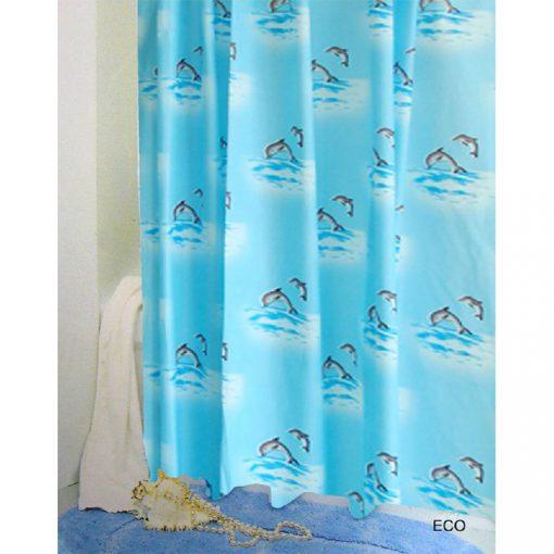 Bisk Nicesea 07900 Eco 180x200 Peva zuhanyfüggöny