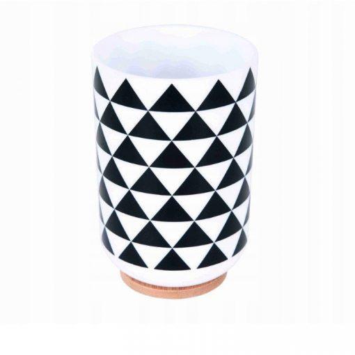 Bisk Nicesea 07902 Snow Concept pohár, fekete/fehér