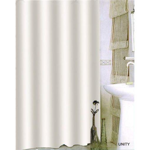 Bisk Nicesea 08702 Unity White 180x200 textil zuhanyfüggöny