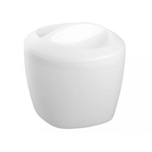 Bisk KASKADA 17602 fehér műanyag kozmetikai tartó