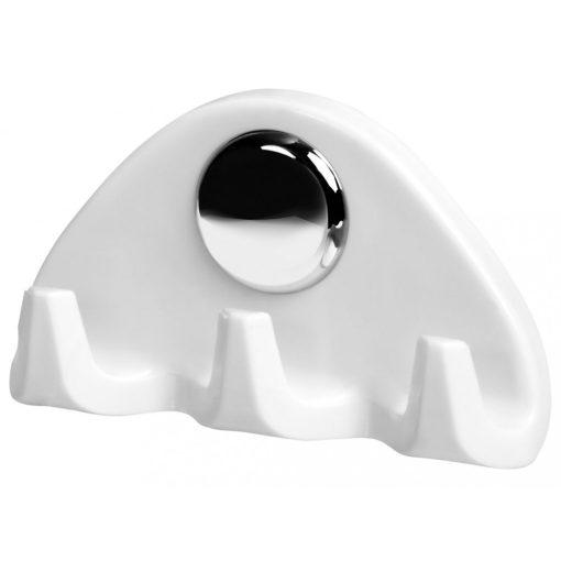 Bisk SANDRA 24102 háromágú fali fogas