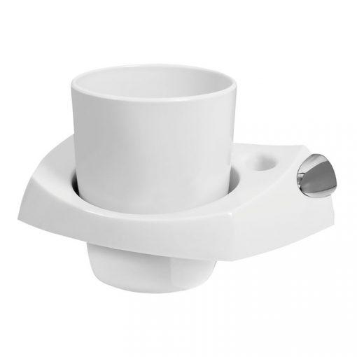 Bisk CAPRI 26602 fehér pohártartó
