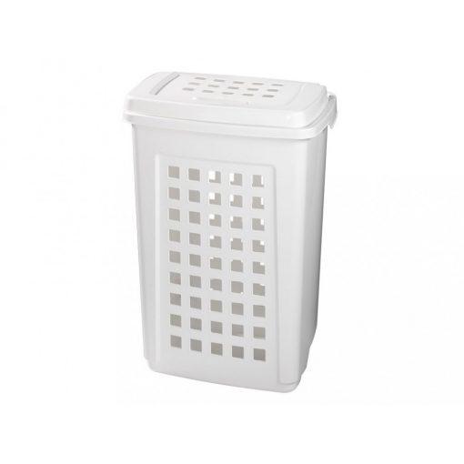 Bisk 76902 60 literes fehér szennyestartó polipropylén