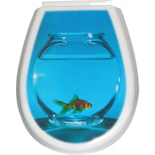 Bisk LILIA 80378 hal mintás wc ülőke