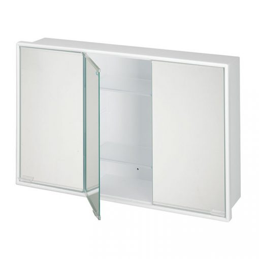 Bisk ARTEMIS 90502 fehér 3 ajtós tükrös szekrény