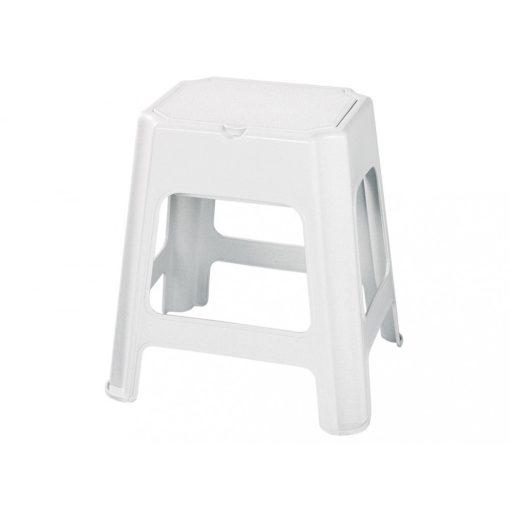 Bisk 90902 fehér fürdőszobai szék