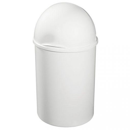 Bisk 93002 15 literes fehér szemetes polipropylén